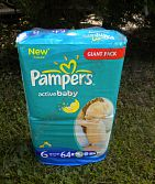 Pampers 6 15+ kg Giant Pack 56 ks New